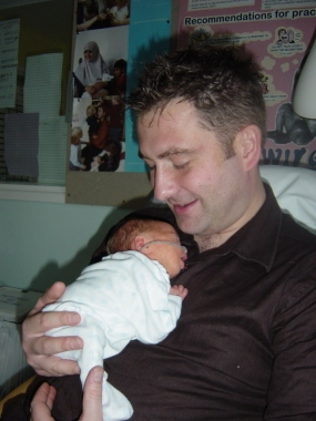 Tiny MasterB and daddy x