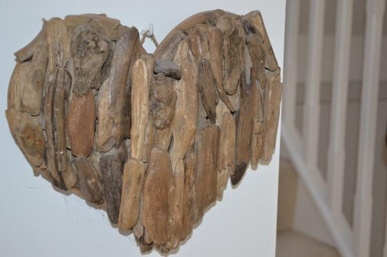 Driftwood heart...