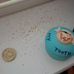 Tooth fairy dust everywhere!