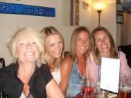The girls...