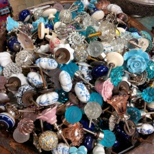 assorted knobs