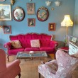 Vintage tea rooms