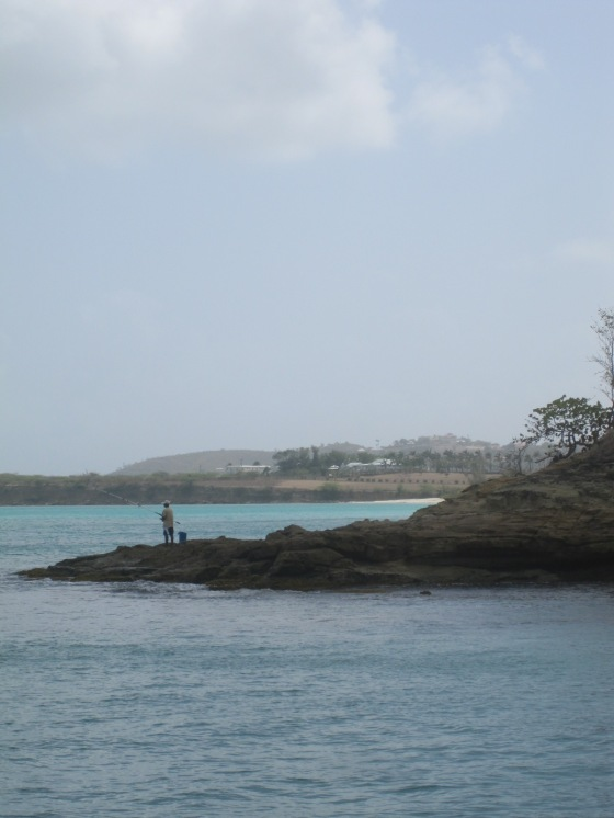 fishing in Antigua