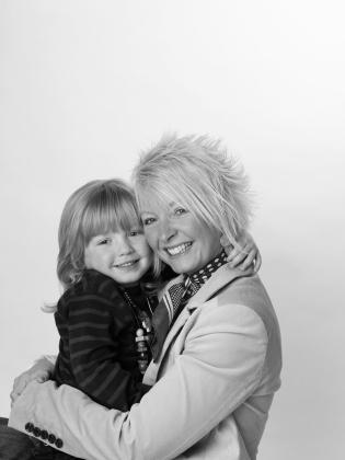 Barnaby and mummy