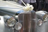 the wedding car
