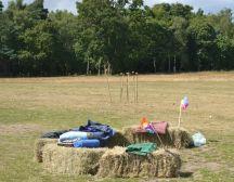 the wedding field