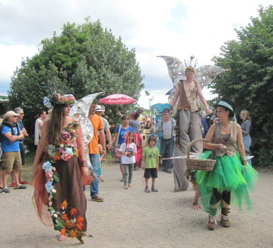 Larmer Tree 15 parade
