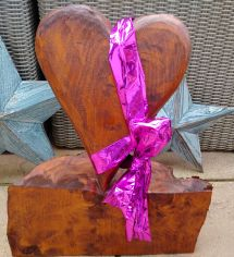 heart with a bow