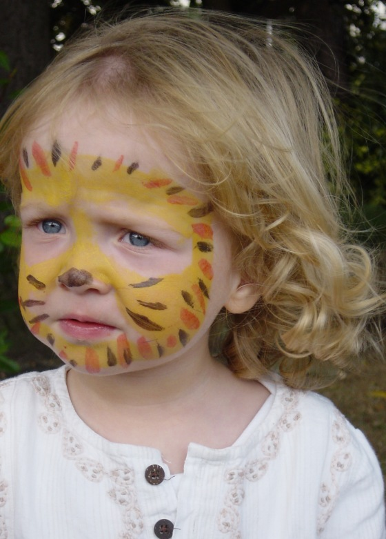 MasterB face painted