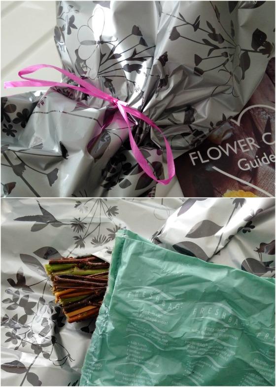 Prestige flowers hydration pouch