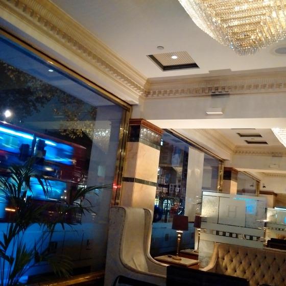 The Grange Hotel lobby