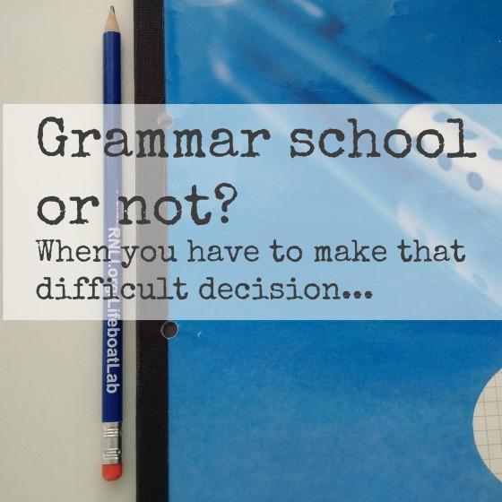 Grammar school or not?