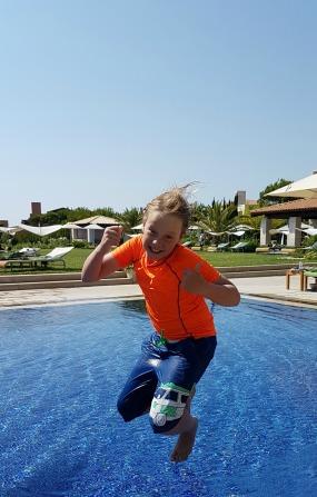 Barnaby in Greece
