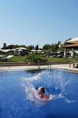 Splash in Greece